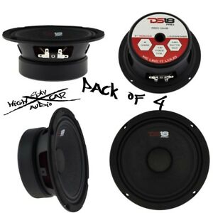 "DS18 6.5"" Midrange Loudspeaker 1920W Max 8 ohm PRO-GM6 Speaker (4 Speakers)"