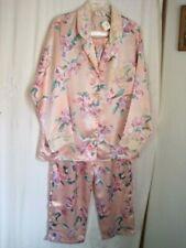 "Victoria's Secret Pink W/Floral Pajama Set Reg.Size Tag says"" S ""Should be "" L """