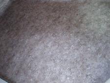 7948 hochwertiger PVC Belag 402x200 robust Bodenbelag CV Boden Rest braun silber