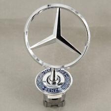 Mercedes Benz Star Hood Logo Chrome Emblem Badge W123 W126 W201 W124 Us Stock