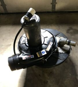 Cincinnati Fan/ Drum Top Portable Dust Collector, Model No. 300S/T3 (3450 RPM)
