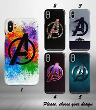 Marvel Avengers case for iphone 11 12 pro max XR X XS SE 2020 8 7 plus 6 5 + SN