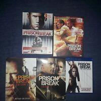 prison break saisons 1 à 4 en DVD + the final break en bluray