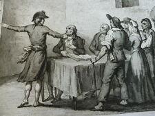 HISTOIRE DE LA RÉVOLUTION FRANÇAISE  M.A Thiers  7 volumes gravures