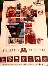 Minnesota Golden Gophers 2019-2020 Wrestling Schedule Poster. Nm/Mt.Price Lower!