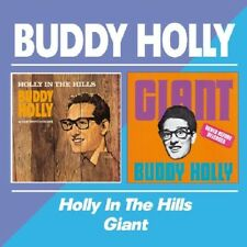 BUDDY HOLLY - HOLLY IN THE HILLS/GIANT  CD NEUF