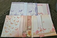 Hunkydory Butterfly Backing Paper and Inserts Set 2