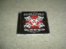 BIOHAZARD - KILL OR BE KILLED - CD ALBUM - JAPANESE IMPORT