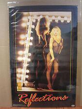 Reflections Rock video Girls 1993 Hot girl man cave car garage Vint Poster 3857