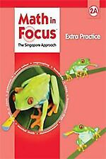 Grade 2 Math in Focus Student Extra Practice Workbook 2A 2009 Edition Singapore