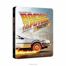 BACK TO THE FUTURE 30th Anniversary Complete Trilogy Steelbook (4-disc Blu-ray +