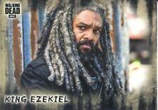 Walking Dead Hunters & Hunted Short Print Base Card #37 King Ezekiel