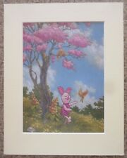 "Disney Piglet from Winnie the Pooh Collection Mounted 11"" x 14"" Art Print"