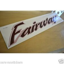 SWIFT Fairway Caravan Side Name Sticker Decal Graphic - SINGLE