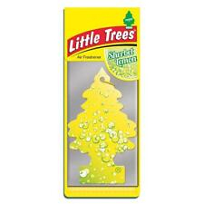 4 x Little Magic Tree Car Air Freshener SHERBERT LEMON Freshner 2D