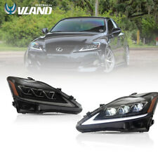 LED Sequential Signal Headlight For Lexus IS250/350 ISF 2005-2013 Front Lamp