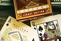 Masters Legacy Bicycle Playing Cards Poker Size Deck USPCC ellusionist Brand New