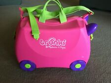 Melissa & Doug Trunki Pink Purple Green Girls Suitcase Children's Kid's