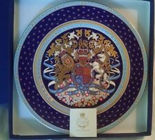 Queen Elizabeth Longest Reigning Monarch Commemorative Plate