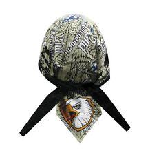 We The People 2nd Amendment Eagle Doo Rag Headwrap Skull Cap Sweatband Capsmith