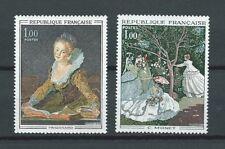 TABLEAUX d' ART - 1972 YT 1702 à 1703 - TIMBRES NEUFS** LUXE