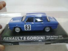 RENAULT 8 GORDINI  J,F,PIOT / J,F,JACOB  TOUR DE CORSE   1/43   REF 294