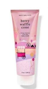 Bath & Body Works Berry Waffle Cone Body Cream