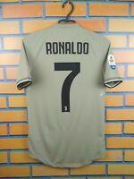 Ronaldo Juventus Authentic Jersey 2019 Away XS Shirt CF3526 Soccer Adidas Trikot