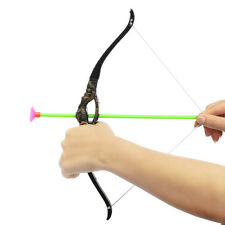 Kids Bow and Arrow With Quiver 3 ARROWS Good For Archery Brand New Toy