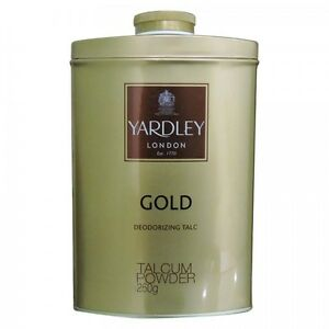 Yardley London - Gold Deodorizing Talc (250gm)