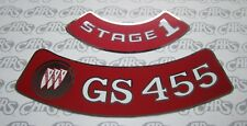 1970-1974 Buick GS 455, Stage 1 Air Cleaner Decal Kit. GS GSX Riviera