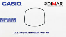 CASIO GASKET/ BACK SEAL RUBBER, FOR . OC-502