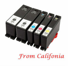 5x Lexmark 100 Ink cartridge for S305 S405 S505 S605 PRO205 Pro705 PRO904 PRO905