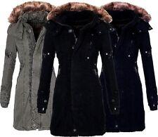 Damen Wintermantel Lang Günstig Kaufen Ebay