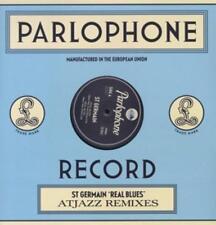 Blues Vinyl-Schallplatten-Singles mit Rock