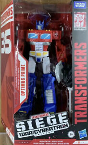 Hasbro Transformers Optimus Prime Action Figure 35th Classic Animation TAKARA