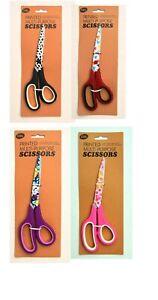 1x Printed All Multi Purpose Stainless Steel Scissors Dress Making Kitchen Craft