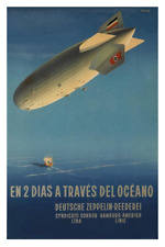"Graf Zeppelin Cutaway Aviation Poster Mini 11/""X17/"""