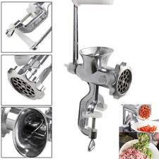 Perfect Adjustable Heavy Duty Hand Operated Manual Kitchen Meat Mincer Grinder