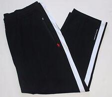 New $125 Polo Ralph Lauren Black Performance Track / Sweat Pants / 2XLT