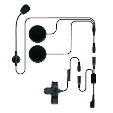 Helmet Racing Headset Microphone for Icom IC Cobra FRS Midland Alan 2 Prong