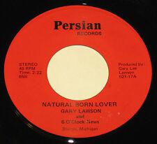 "Gary Lawson 7"" 45 HEAR PRIVATE GARAGE ROCK PERSIAN LABEL 6 O'Clock News"