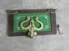 antique door panel IRON ORNATE vintage FIREPLACE FIREBACK Oven Door Set Ofentür