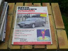 RTA 559 CITROËN XANTIA 4 cylindres Essence Evolution ZX et AX