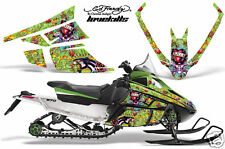 AMR SLED STICKER ARCTIC CAT F SERIES GRAPHIC ED HARDY L