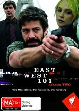 East West 101 : Season 2 (DVD, 2009, 2-Disc Set) - Region 4
