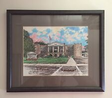 Stan Routh Signed Numbered Framed Print 1993 Oakdale Louisiana High School 1923