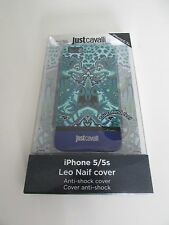 JUSTCAVALLI IPHONE 5/5S LEO NAIF COVER NEW AND BOXED