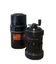 Curta Type 1 I Vintage Calculator With Case