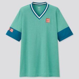 Uniqlo Kei Nishikori Shirt & Shorts NK Dry EX US Open Tennis Game New York 2021